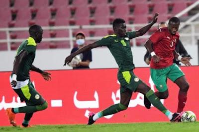 ملخص واهداف مباراة المغرب والسنغال (3-1) مباراة ودية