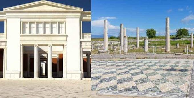 Griechenland will Palast von Pella wieder aufbauen