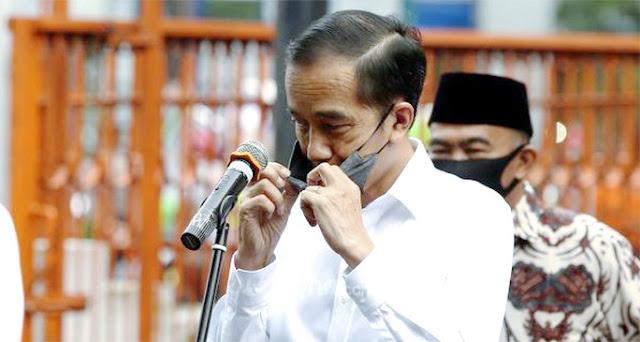 #JokowiKabur Viral, Pentolan JIL Ajari Presiden soal Adab