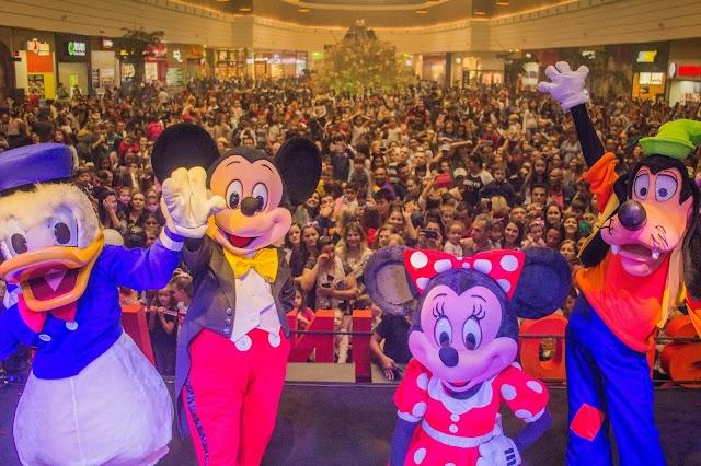 "Shopping Botucatu recebe musical ""Sonhando com o Mickey"""