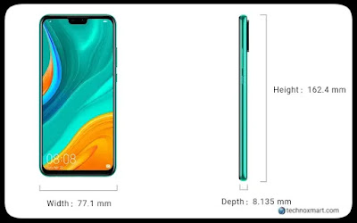 huawei y8s leaks, launch date
