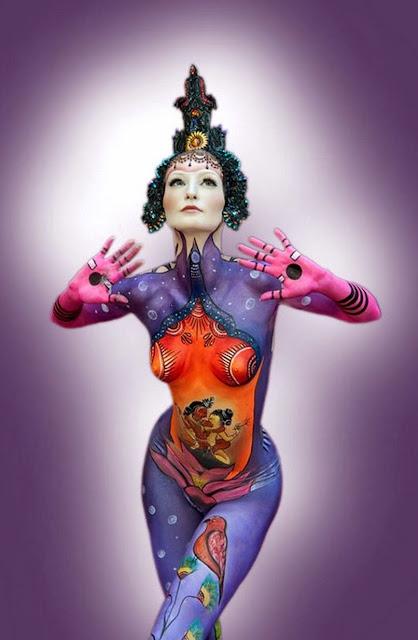 pintura-corporal-de-mujeres
