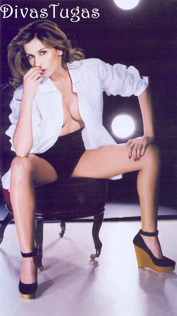 Fotos de Sofia Aparício nua pelada na FHM