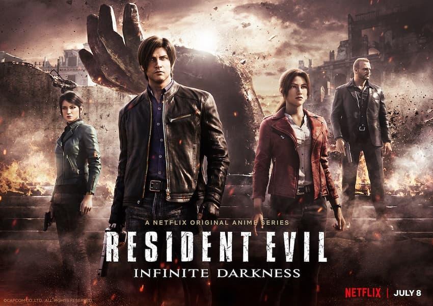 Netflix показал трейлер мультсериала Resident Evil: Infinite Darkness - Постер