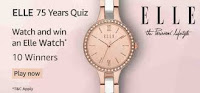 Amazon Elle 75 Years Quiz Answers for 04 February 2021