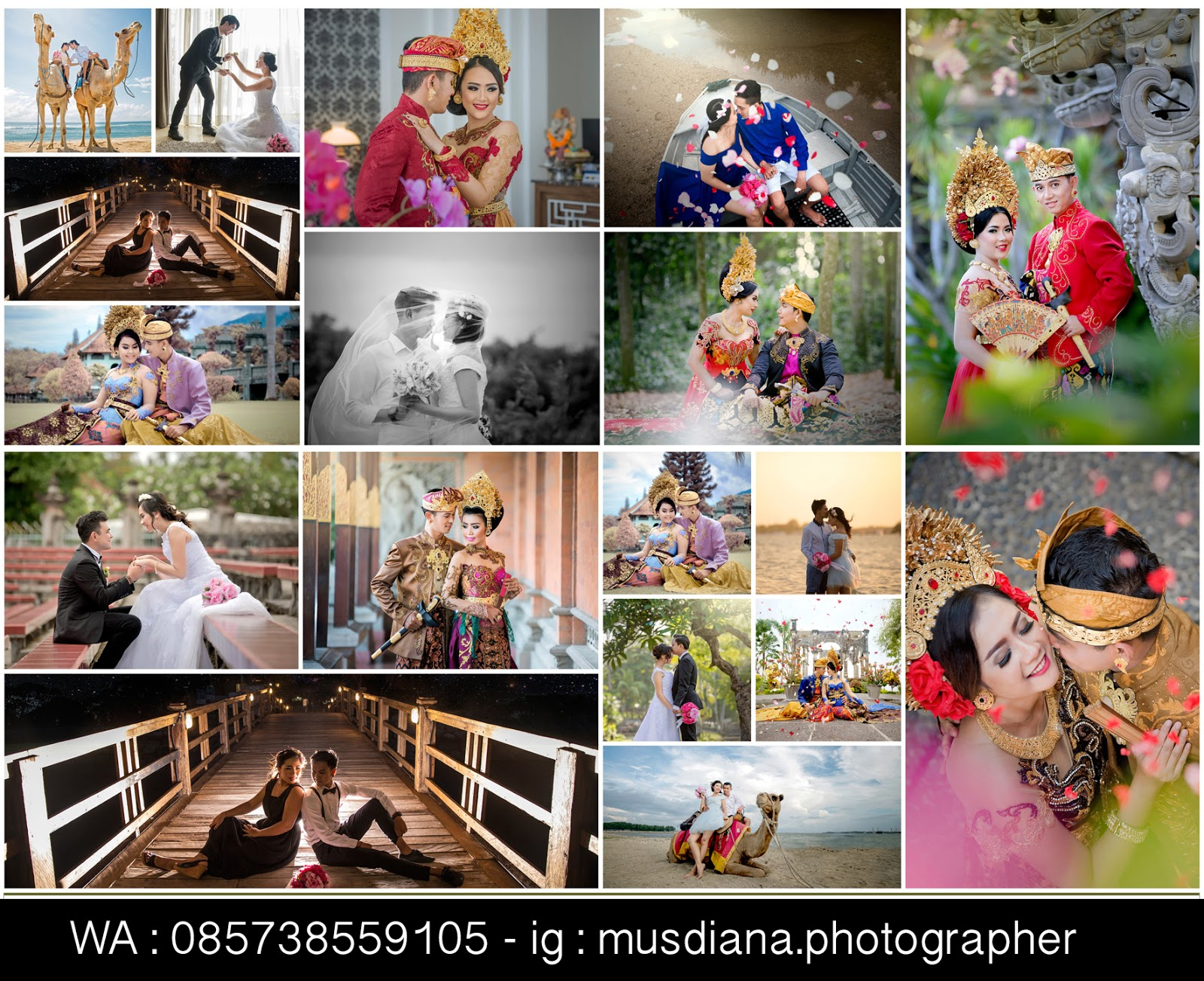 Paket prewedding murah bali bridal rias make up all include