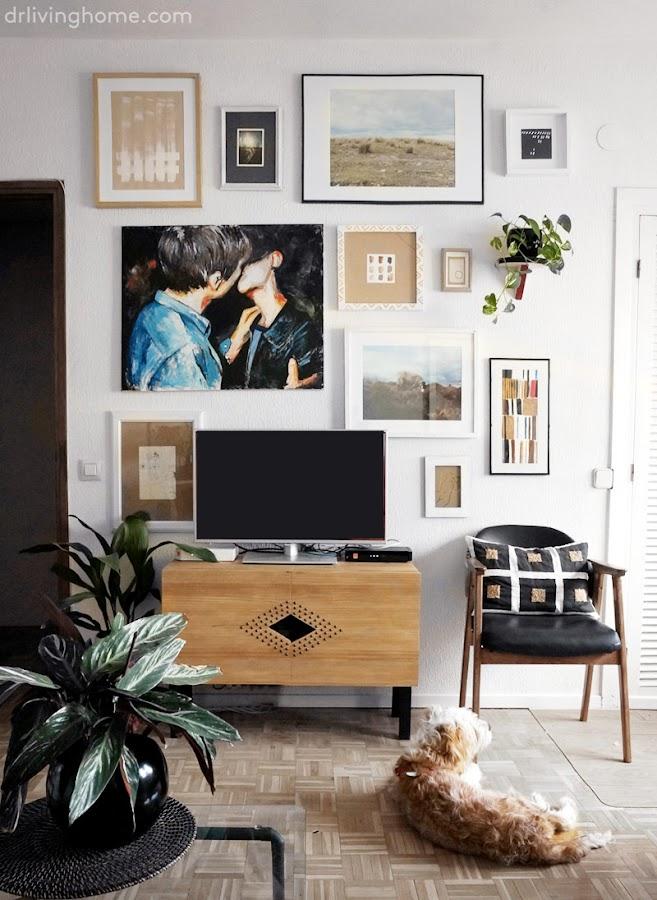 Gallery wall en mi salón