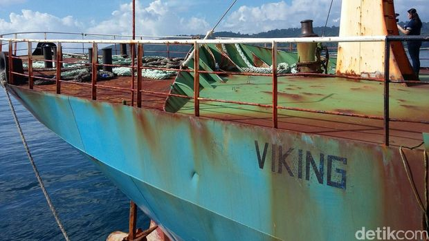 Tenggelamkan Kapal Viking, Mentri Kelautan RI Beri Pesan Untuk Dunia
