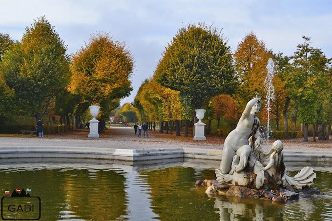 Jesienny Schönbrunn