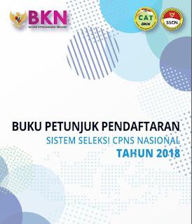 Buku Petunjuk Pendaftaran Sistem Seleksi CPNS Nasional Tahun 2018