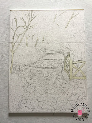 Shakespeare Garden NYC Central Park sketch Daily Doodle