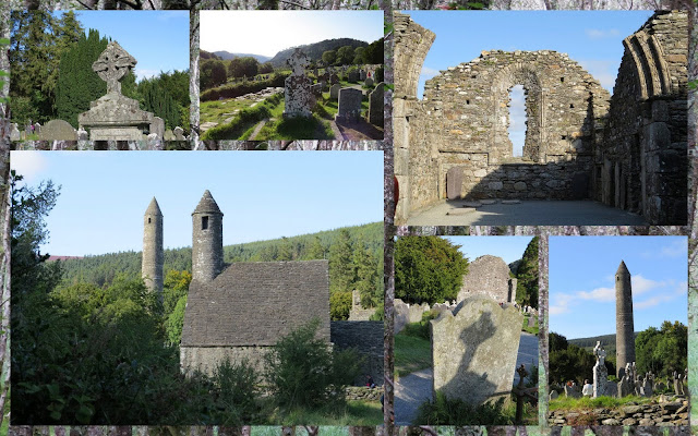 Hillwalking at Glendalough in County Wicklow - The Monastic Settlement