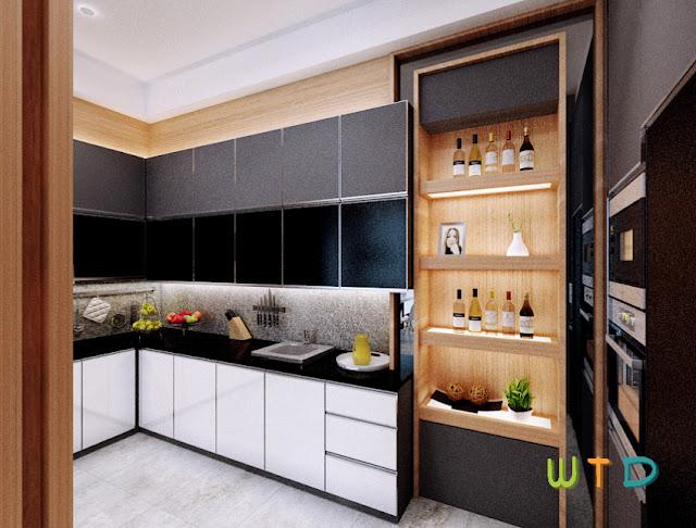 Kitchen Set Citraland Lampung