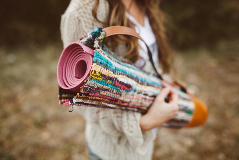Sincerely Kinsey Yoga Mat Bag Diy