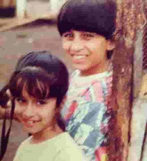 Shraddha Kapoor Childhood Image
