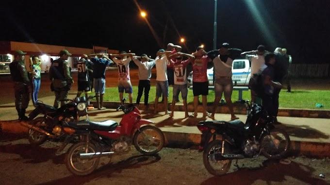 Polícias Civil e Militar combatem poluição sonora gerada por motocicletas nos bairros da cidade de Rurópolis