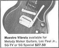 Gibson Maestro Werbung