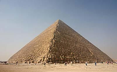 ¿Fue Keops en realidad el autor de la Gran Pirámide?