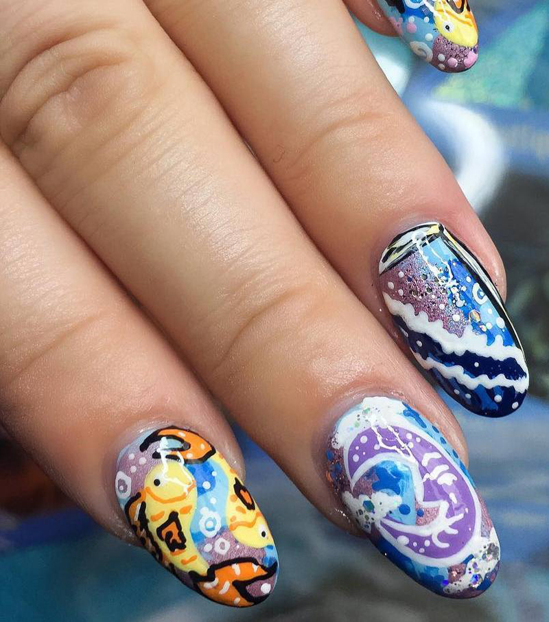 Tarot Card Nail Art Is the Coolest New-Age Trend