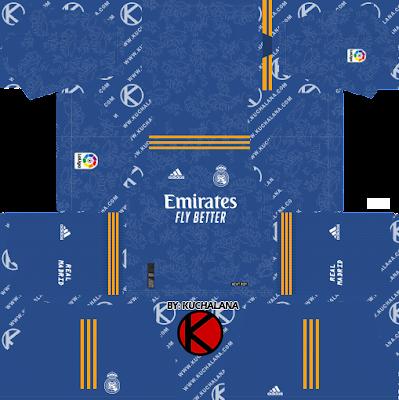 Bộ đồ Real Madrid 2021-22 - DLS2019