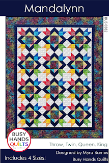 Mandalynn Quilt Pattern by Myra Barnes of Busy Hands Quilts