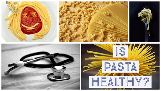 kinds of pasta and a stethoscope