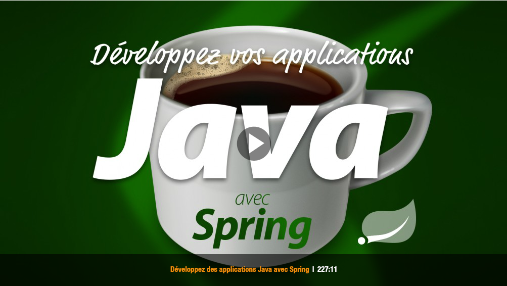 Elephorm - Développez des applications entreprises avec Java et Spring sur Bookys