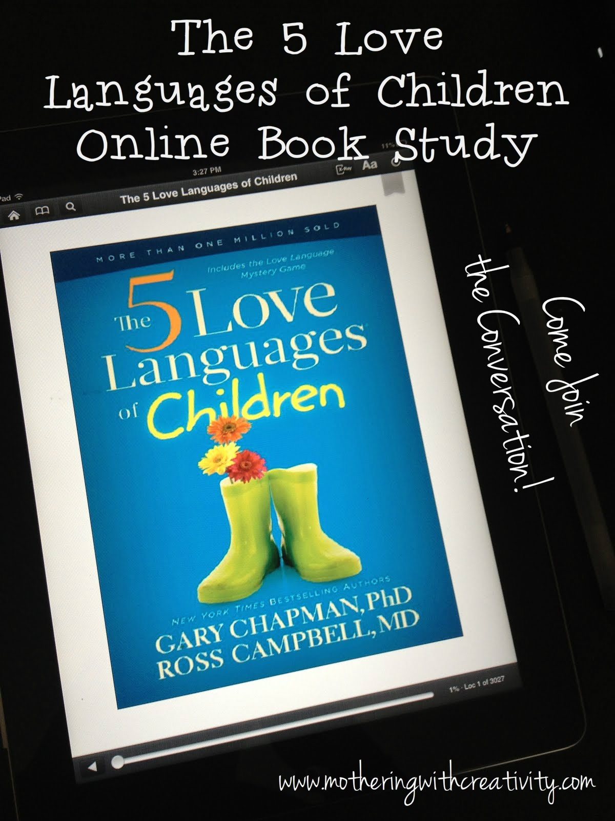 Mothering With Creativity The Five Love Languages Of