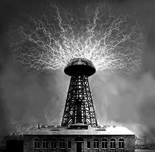 Wardenclyffe Tower Nikola Tesla / Lazy Tekno