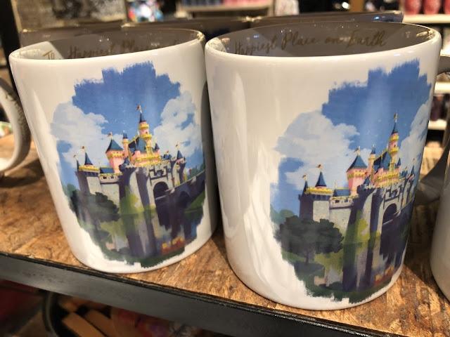 Ink & Paint Sleeping Beauty Castle Mug
