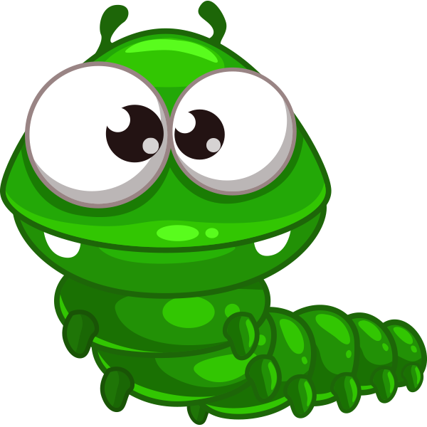 Green Bug Emoticon