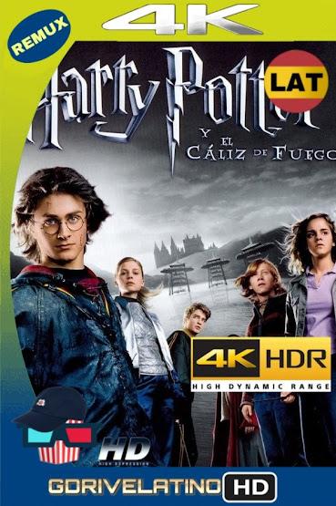 Harry Potter y El Cáliz de Fuego (2005) REMUX 4K HDR Latino-Ingles MKV