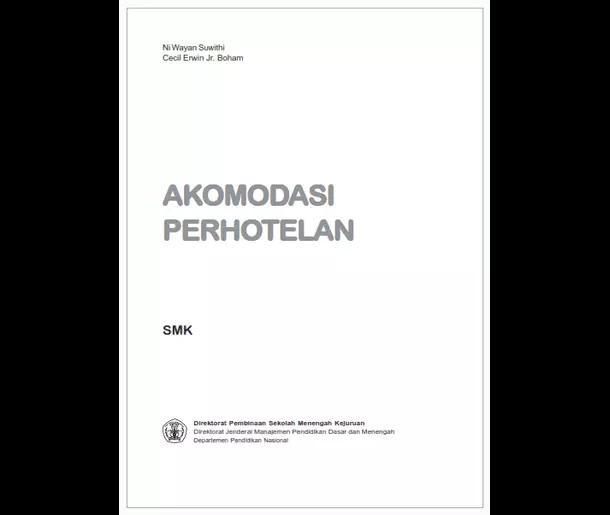 Buku SMK Seni dan Pariwisata Akomodasi Perhotelan