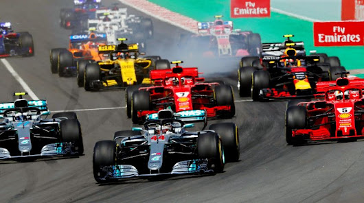The performance analysis of the 2018 Spanish Gp