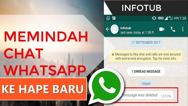 Cara Memulihkan Chat WhatsApp kalau Kamu #2019GantiHape