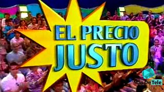'El Precio Justo' en Antena 3