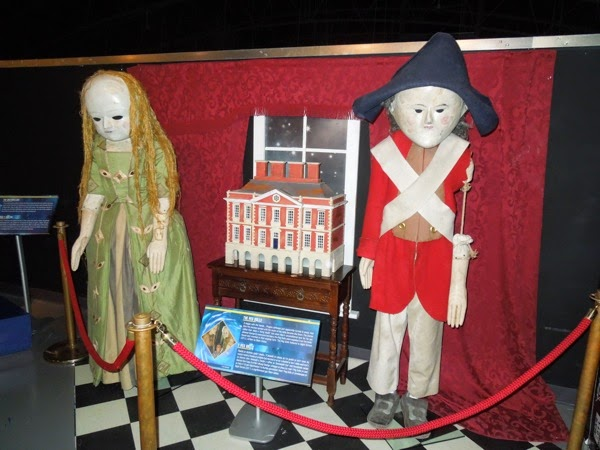 Doctor Who Night Terrors Peg Dolls exhibit