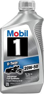 Best Engine Oil For Bike - Mobil 1 v-twin