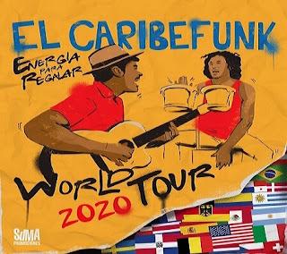 Concierto de CARIBEFUNK en Bogotá 2020