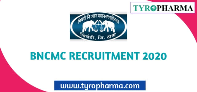 Pharmacist job in BNCMC