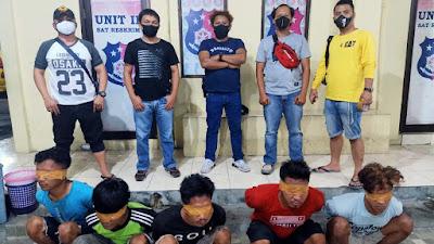 Sindikat Pencurian Mesin Perahu di Boltim Tertangkap di Manado