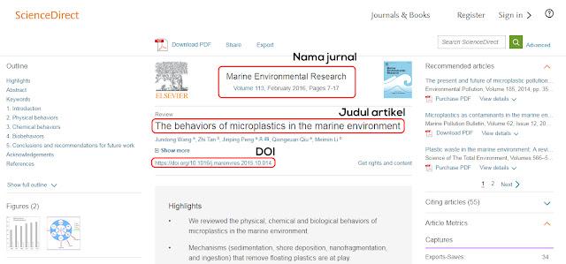 Cara mencari jurnal online