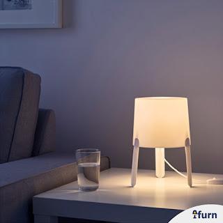 Jual Lampu Meja Putih