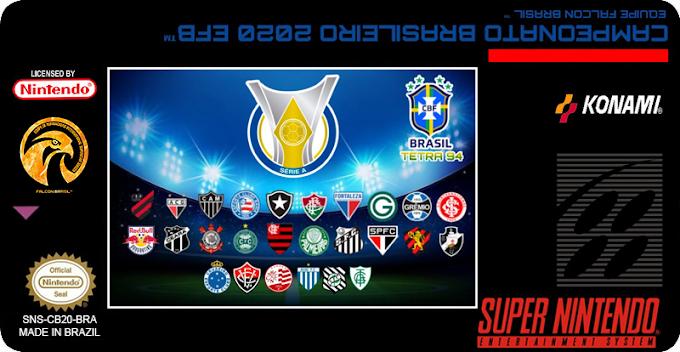 International Superstar Soccer - Campeonato Brasileiro 2020 - SNES
