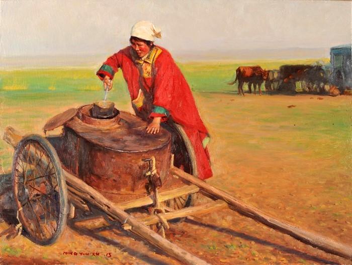 Сущность и душа монгольского народа. Edward Xu