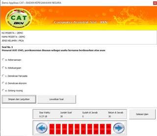 Download Simulasi Offline CAT CPNS 2018 untuk Komputer