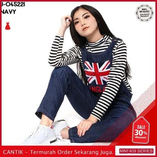 MNF409J158 Jumpsuit Overall Wanita 045221 Denim Jeans Jumpsuit 2019 BMGShop