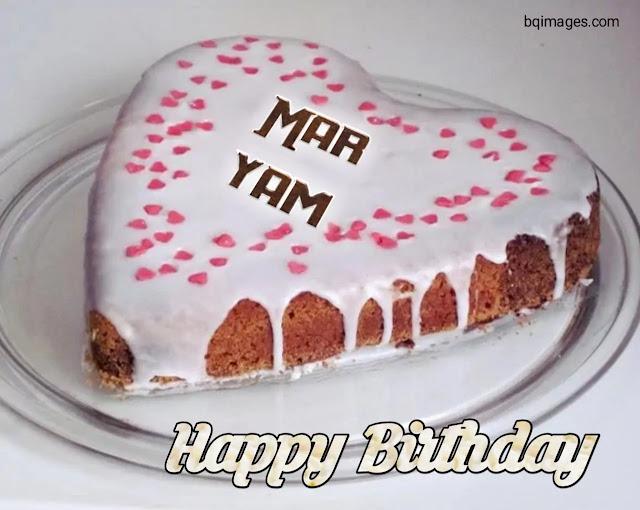 happy birthday maryam status