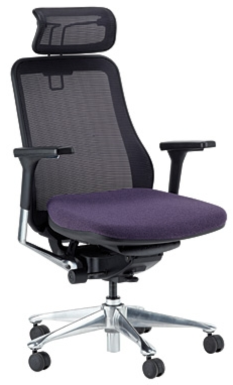 Symbian Series Purple Ergonomic Office Chair by Eurotech