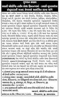 ITI Himatnagar Recruitment for Pravasi Supervisor Instructor Posts 2019